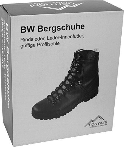 BW Bergschuh in Schwarz Schwarz