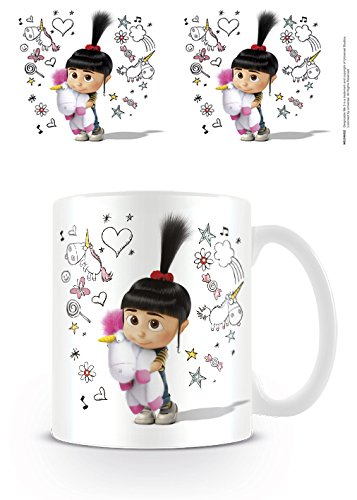 Despicable Me Kaffeetassen, Papier, Mehrfarbig, 11 x 11 x 1.3 cm