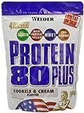 Weider Protein 80 Plus, Cookies und Cream, 500 g