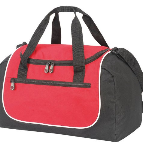 Shugon - Rhodes Sports Holdall Red/Black