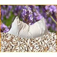 Bio Dinkel-Lavendel Kissen 40 x 40 cm weiß preisvergleich bei billige-tabletten.eu