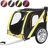 Leopet - Remorque de vélo pour chien – Postman – charge maximale : env. 35 kg - COLORIS AU CHOI