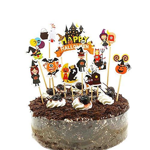 Kuchendekoration Cupcake Cake Toppers Geburtstagskuchen Kuchen Deko, Flamingo, Einhorn, Halloween, Weihnachtsmann, Weihnachtshirsc