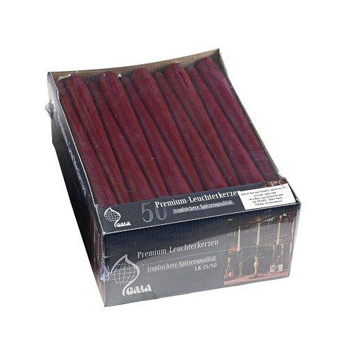 Premium-Leuchterkerzen LK 25/50, 50er-Pack