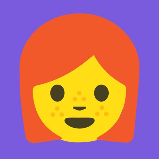 redhead-emoji-stickers