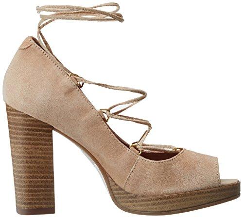 BATA 7238944, Chaussures à Talons Femme Beige (Beige)