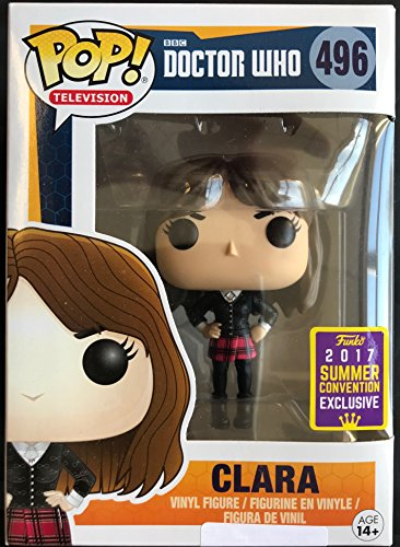 Funko Doctor Who Pop Vinyl Figure 496 clara SDCC Summer Convention Exclusives 14591