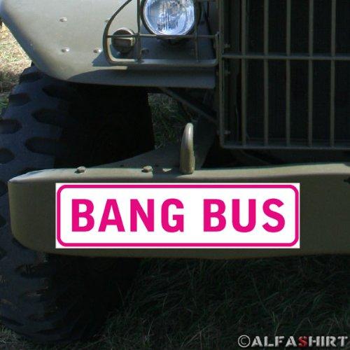 Preisvergleich Produktbild * Magnetschild - Bang bus Pussy Wagon Fuck Truck Junggesellenabschied Hochzeit Porno Erotik Fahrzeug #A327