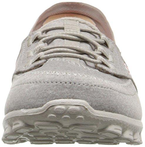 Skechers Ez Flex 2Ringer, Baskets Basses Femme Gris - Grau (TPE)