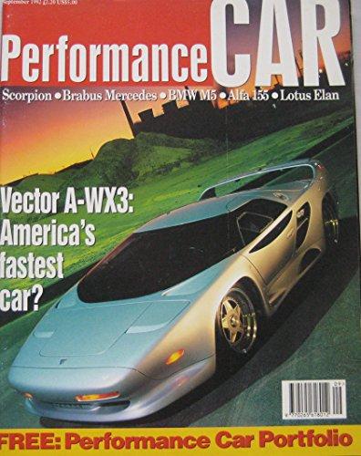 performance-car-magazine-09-1992-featuring-vector-brabus-bmw-m5-lotus-nissan-sunny-gti-r