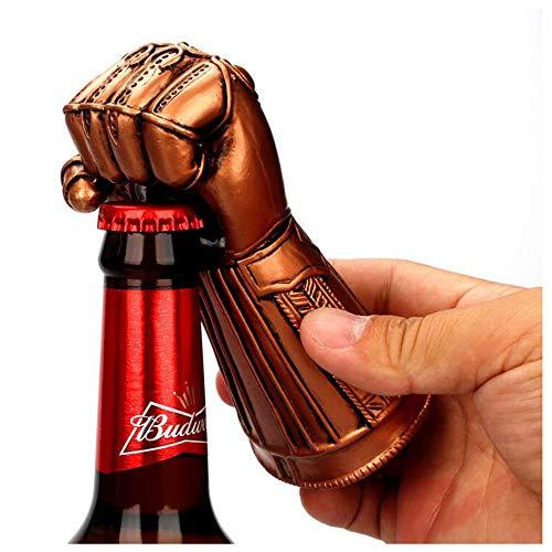 CHESUN Bier Flaschenöffner - unendlich Krieg Handschuhe Bier Wein Flaschenöffner - ideal für Bar Party Bier Liebhaber ausgezeichnete Geburtstagsgeschenke 6,5 * 13 cm (2,55 * 5,11 Zoll)