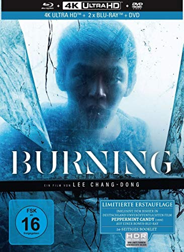 Burning - 4-Disc Limited Collector's Edition Mediabook (4K Ultra HD) (+ Blu-ray) (+ Bonus-Blu-ray) (+ DVD)