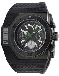 04163b0bd Puma Time 289100161PU101931003 - Reloj analógico de cuarzo para hombre con  correa de plástico