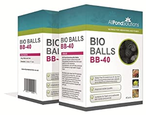 All Pond Solutions Bio Balls - Aquarium Fish Tank & Pond Filter Media