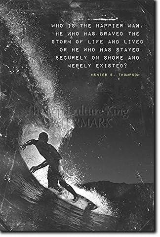 Surfing Motivational Poster 04