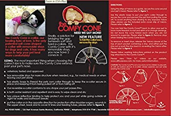 "All Four Paws ""The Comfy Cone"" Halskrause Für Haustiere 1"
