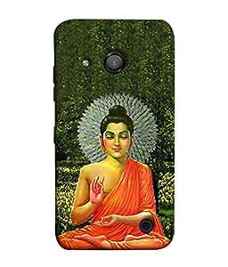 FUSON Designer Back Case Cover for Microsoft Lumia 550 (Sun Flower Blooming In The Sun)