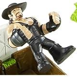WWE Rumblers Casket Match Playset with Undertaker Figure