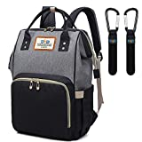 DYD Baby Nappy Changing Backpack Bag, Large Multifunction Baby Diaper Bag Backpack Stylish