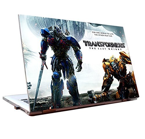 Tamatina Laptop skins 15.6 inch - Transformers - The Last Knight - Optimus Prime & Bumblebee - Hollywood Movie - HD Quality - Dell-Lenovo-HP-Acer  available at amazon for Rs.198