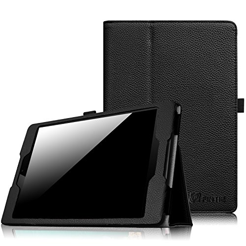 Fintie HTC Nexus 9 Folio Hülle Case - Slim Fit Kunstleder Schutzhülle Tasche Etui Cover mit Standfunktion und [Auto Sleep/Wake] Funktion for HTC Nexus 9 (8,9 Zoll) Tablet-PC by Google, Schwarz