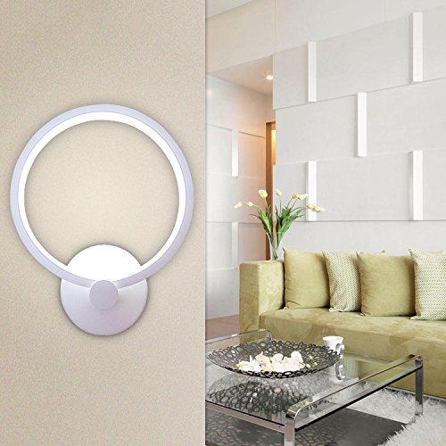 Lightess lampada da parete elegante a led 12w stile for Lampada a led camera da letto