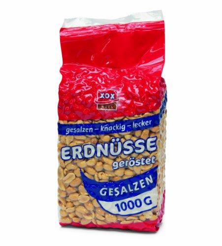XOX Erdnüsse gesalzen,2er Pack (2x 1 kg)