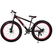 Chaneau Fat Bike 26 Pouces VTT De Pneu Large à 7 Vitesse Fat Tire Bike Adulte