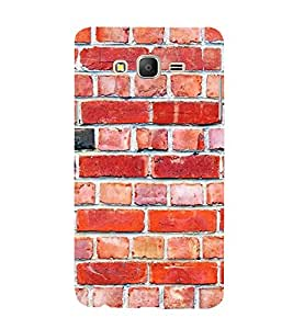 FUSON Brick Wall Scratches Cracks 3D Hard Polycarbonate Designer Back Case Cover for Samsung Galaxy On5 (2015) :: Samsung Galaxy On 5 G500Fy (2015)