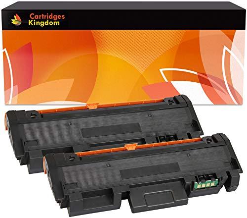 Cartridges Kingdom Pack de 2 Cartouches de Toner compatibles pour Xerox  Phaser 3260, WorkCentre 3215, 3225 [106R02777 3000 Pages]