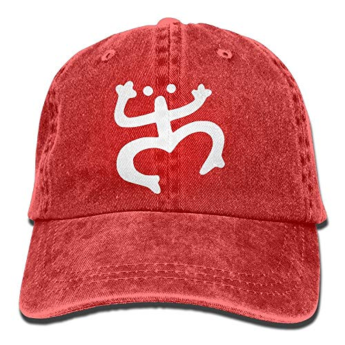 Hoswee Baseballmütze Hüte Kappe Coqui Puerto Rico Taino Plain Adjustable Cowboy Cap Denim Hat for Women and Men Hut Puerto Rico