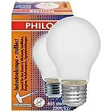 Glühlampe PHILOS A55 Industrielampe E27, 230V, 100W, stossfest, matt