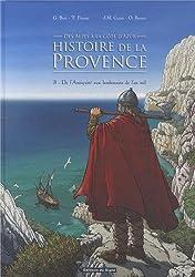 BD Histoire de la Provence - Tome 3 De l'Antiquité aux lendemain de l'an mil