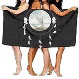 Hats New Cappelli nuovo telo mare angelo in Dreamcatcher 203,2x 330,2cm morbido leggero assorbente asciugamani per yoga pilates per bagno piscina coperta da picnic