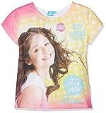 Soy Luna SLFS27119, T-Shirt Bambina, Rosa (White), 6 Anni