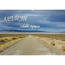 Nevada wide open / BE-Version (Calendrier mural 2014 DIN A2 horizontal): Un voyage à travers la nature sauvage du Nevada. (Calendrier mensuel, 14 Pages)