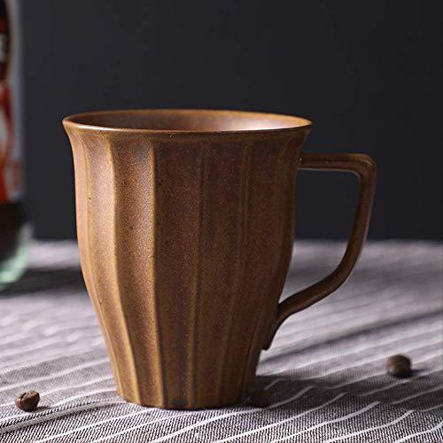 KYSM Japanese Stoneware Mug Keramiktasse Wassertasse Kaffeetasse Milchtasse 250ml Ancient Yellow