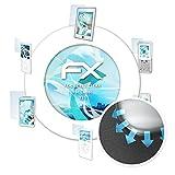 atFolix Schutzfolie für Cubot X11 Folie - 3 x FX-Curved-Clear Flexible Displayschutzfolie für gewölbte Displays