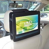 Soporte de reposacabezas de coche para Lenco DVP-934 reproductor de dvd/bluray portátiles con Pantalla Giratoria