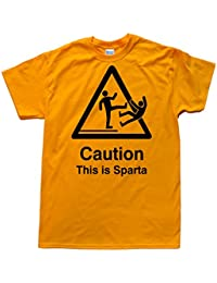 Caution - This is Sparta T-Shirt