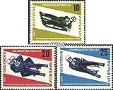 DDR 1156-1158 (kompl.Ausgabe) 1966 Rennschlitten (Briefmarken für Sammler)