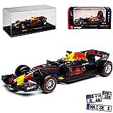 alles-meine.de GmbH Red Bull RB13 Racing Max Verstappen Nr 33 Formel 1 2017 mit Vitrine 1/43 Bburago Modell Auto