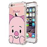 Zhuofan Plus Coque Apple iPhone 6 Plus, Silicone Transparente avec Motif Design...
