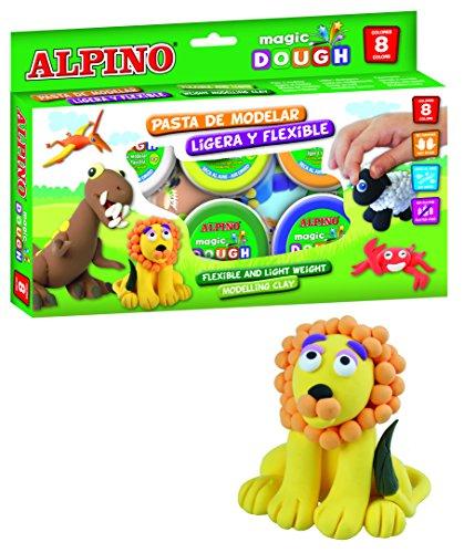 Alpino DP000137 – Pasta blanda, 8 unidades