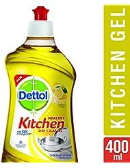 Dettol Kitchen Dish and Slab Gel - 400 ml (Lemon Fresh)