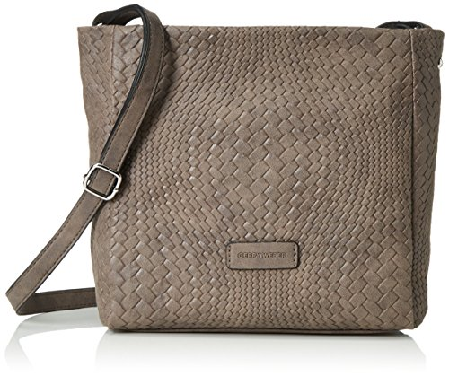 Gerry Weber Damen Wanted Shoulder Bag V, M Schultertaschen, Braun (Taupe 104), 32x24x9 cm