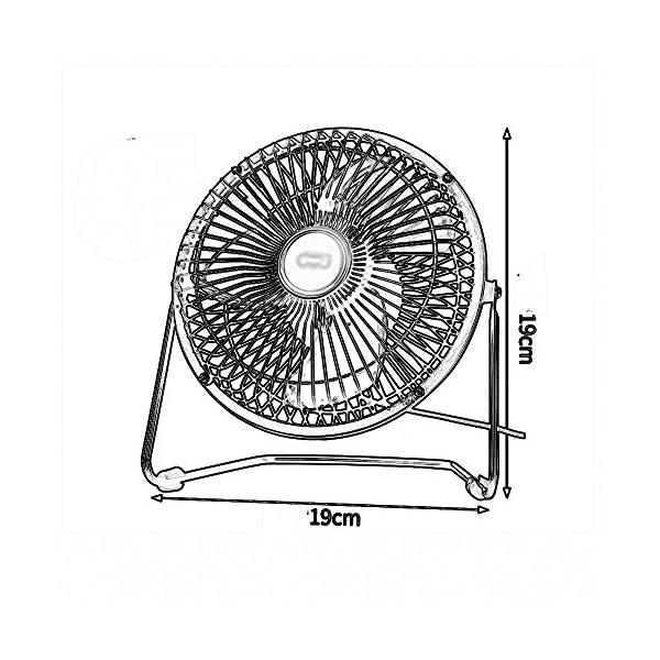 FANS-LHA-Mini-USB-pequeo-Ventilador-Fuerte-Color-Blanco