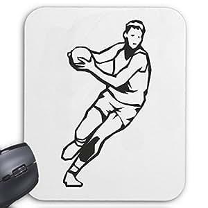 """Tapis de Souris (Mousepad) """"Handball Volley-ball Basket Foot Sport"""" ... Le cadeau idéal pour les amis - des connaissances ou des collègues de travail ... pour votre ordinateur portable, ordinateur portable ou PC Internet .. (Windows Linux, etc.)"""