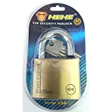 HEHE Top Security Solid brass Padlock 60...