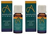 (2 Pack) - Absolute Aromas - Cinnamon Leaf Oil | 10ml | 2 PACK BUNDLE